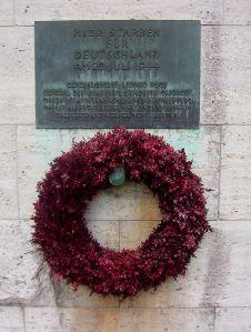 Μνημείο για την αντίσταση των Γερμανών κατά των Ναζί στο Bendlerblock του Βερολίνου